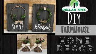 Dollar Tree DIY | Farmhouse Home Decor