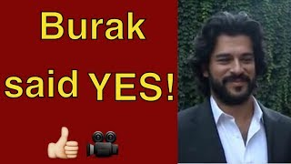 Burak Özçivit says yes to the new series