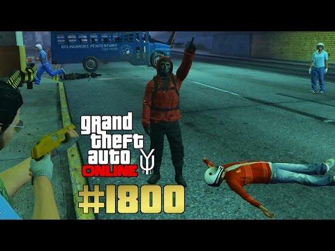 GTA 5 ONLINE Polizeispiel Teil 1 von 4  #1800 Let´s Play GTA V Online PS4 YU91