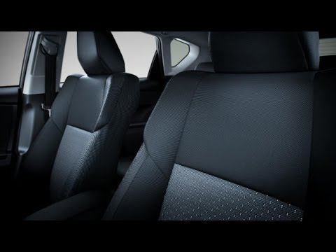 FH Group Install And Over View Of The PU Leather Black Grey Seat Cover For Honda Civic LX Sedan