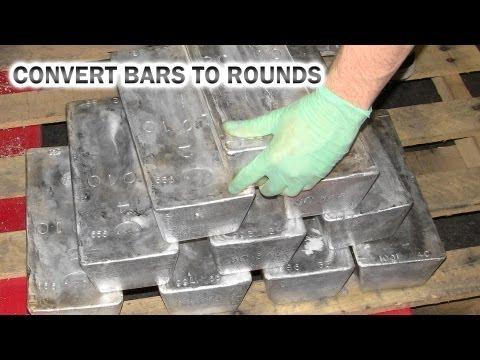 Silver Bullion | Convert your Silver Bars to Bullion Rounds