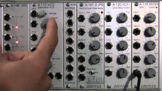 Doepfer A110 VCO Features and Functions Tutorial
