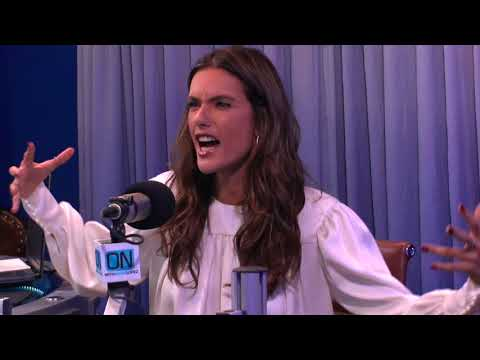 ON With Mario Lopez - Alessandra Ambrosio Interview