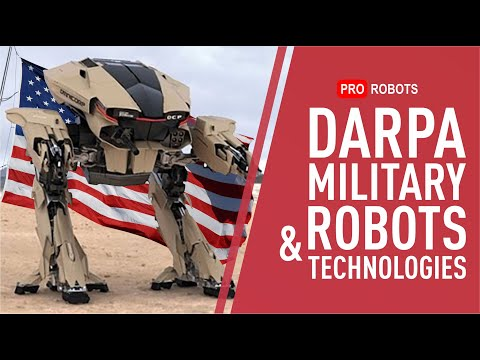DARPA – robots and technologies for the future management of advanced US research