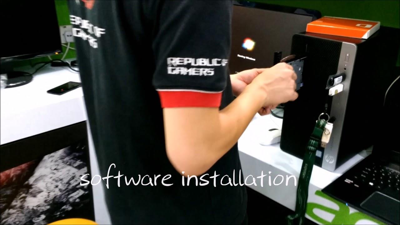 Zino story : HP Prodesk 400G4 & setup