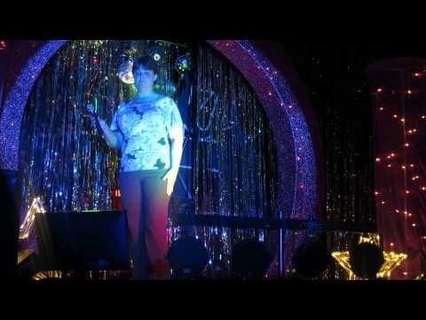 Audrey Hogan, Best Female Country Singer, 2nd Place, singing Leann Rimes'