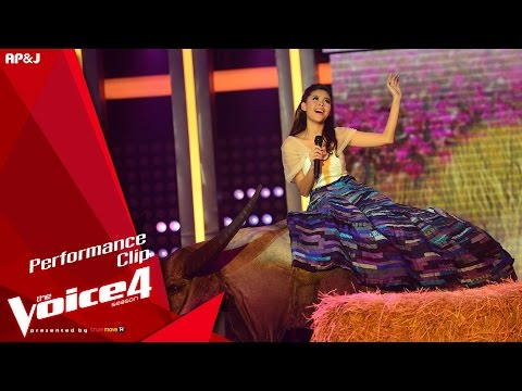The Voice Thailand - ไข่มุก รุ่งรัตน์ -  Loving You - 6 Dec 2015
