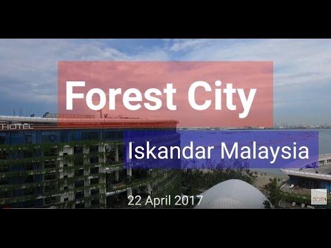 Forest City Iskandar Malaysia, development Update 22 April 2017