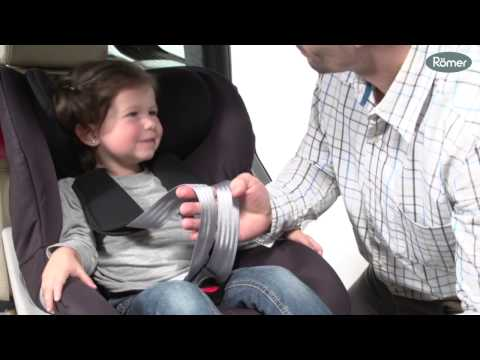 Детское автокресло Britax Roemer King II LS (группа 1, от 9 до 18 кг). Видео №2