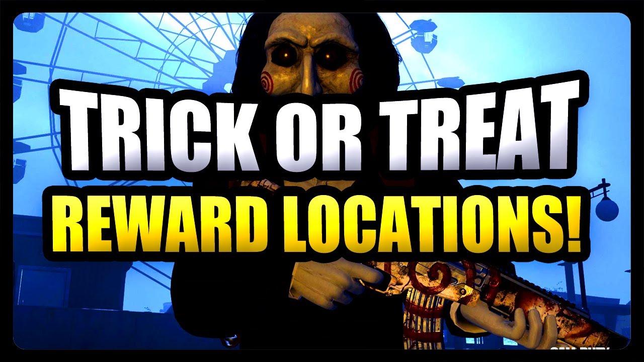 All 16 Warzone Trick Or Treat Reward Locations How To Find Every Trick Or Treat Reward In Warzone Youtube