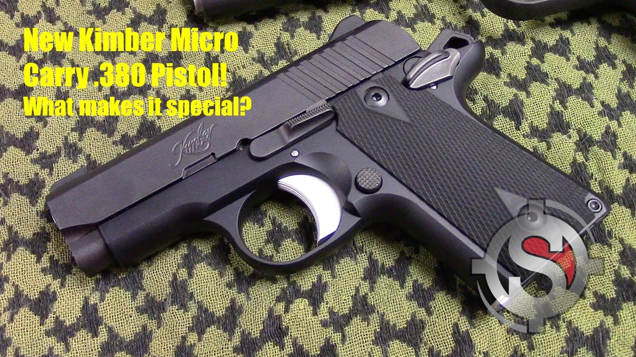 Kimber Micro Carry  380 - Overview
