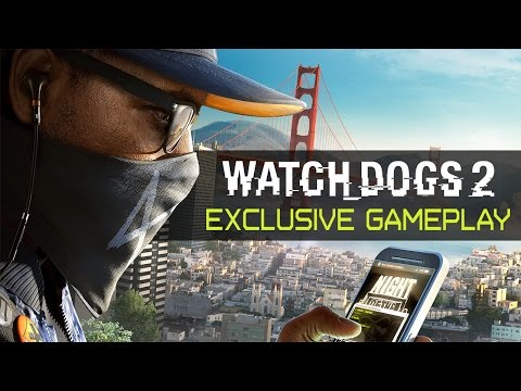 Watch Dogs 2 - Exclusive Gameplay (Private Ubisoft Event)