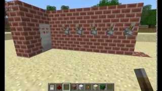 как сделать кодовый замок в Minecraft 1.5.2