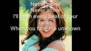Sing along with Sara Evans - Never Alone