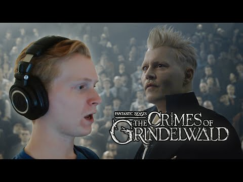 Watching The Harry Potter Prequel... Crimes Of Grindelwald (REACTION)!