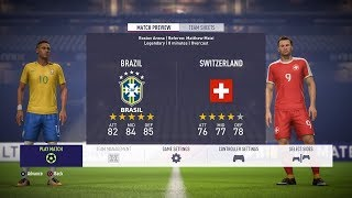 BRAZIL vs SWITZERLAND ▪ World Cup 2018 ▪ Football Live Score  24/7 Livestream