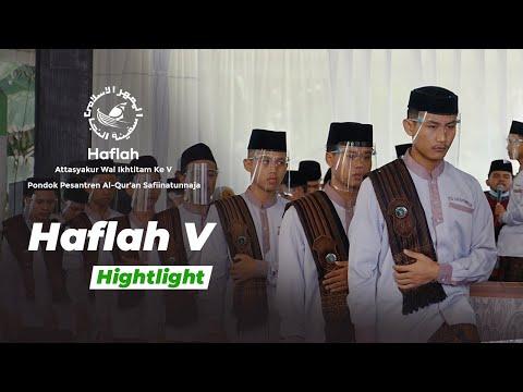 Hightlight   Haflah Attasyakur Wal Ikhtitam 5 - Pagi
