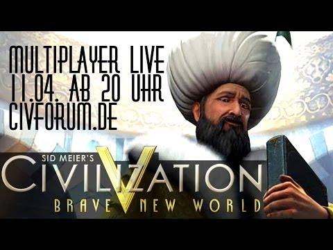 Teaser (1): Multiplayer live - Civilization V | 11.04.2014