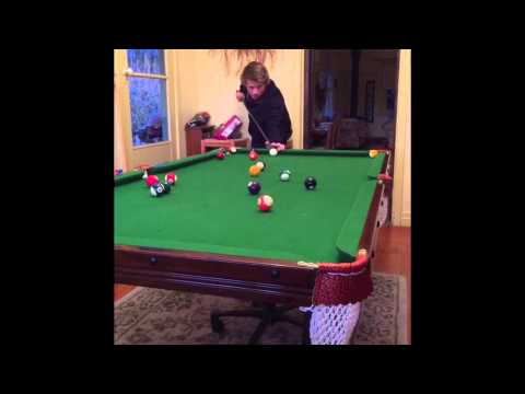 Epic pool trick shots youtube for Epic pool show
