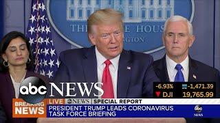 'Chinese virus' not racist: Trump  | ABC News