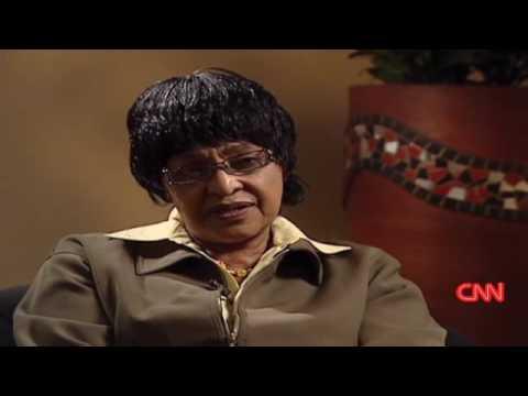 Winnie Mandela on Kennedy