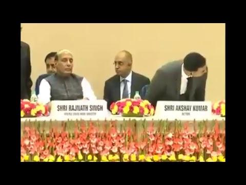 "HM Shri Rajnath Singh launches web portal and mobile application ""Bharat Ke Veer"