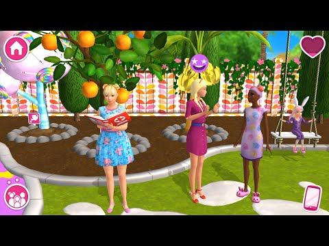 Barbie Dreamhouse Adventures - Barbie & Friends Dress Up, Cook, Morning Routine - Simulation Game