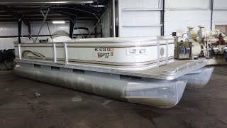 2003 Crest II 25' Pontoon | For Sale | Online Auction