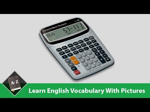 Learn English - English Vocabulary - Work/ Office Equipment