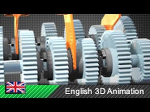 How a Motorcycle Transmission Works! (Animation)  YouTube