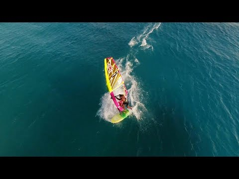King of Bonaire 2017 - Drone coverage of Freestyle Windsurfing Competition
