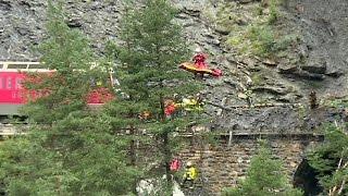 سويسرا11 : مصابا جراء انحراف قطار