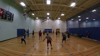 June 18, 2018 Open Gym Volleyball Highlights