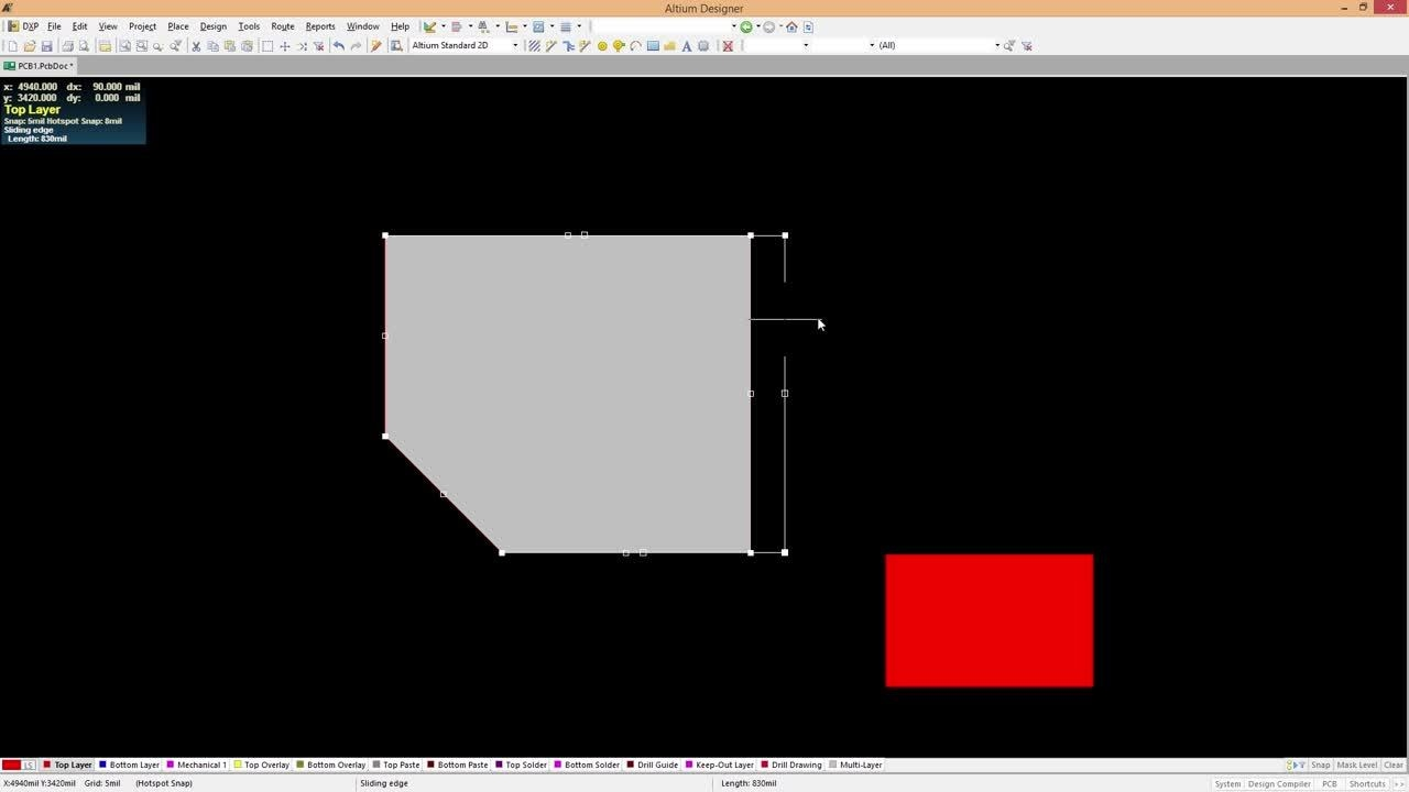 How to Edit Copper Polygons on your PCB Layout on Altium Designer 17 PCB  Design Software