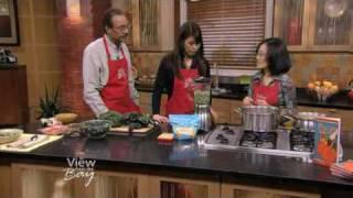 Healthy Potato And Kale Soup Using Trader Joe's