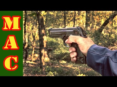Beretta 92S - Classic predecessor to the M9