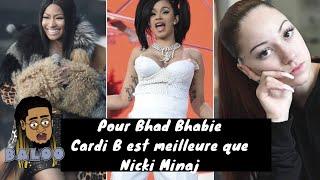 Bhad Bhabie trouve que Cardi B est meilleure que Nicki Minaj