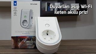 Duvarları aşıp Wi-Fi ileten akıllı priz! - TP-LINK RE270K inceleme