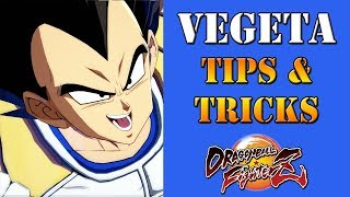 Dragon Ball FighterZ - Base Vegeta Tips & Tricks