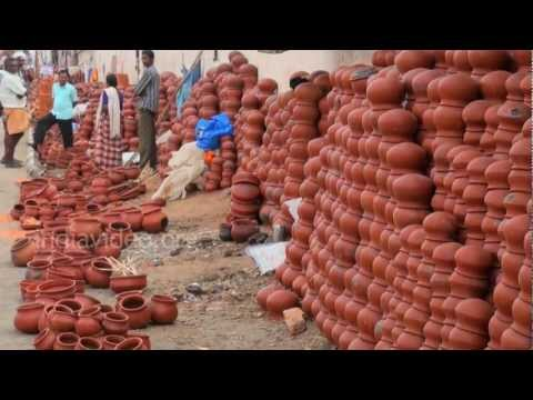 Earthen pots on Sale, Thiruvananthapuram