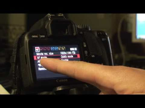 How To Quickly Focus For Each Video on the T2i 550D