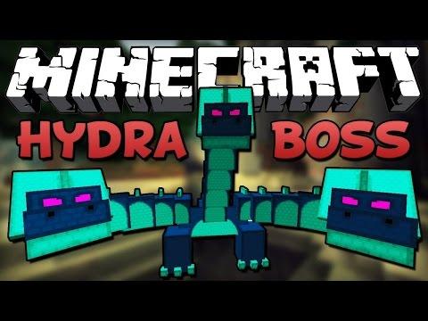 Minecraft Hexxit 5. Bölüm #Üç Başlı Ejderha Boss