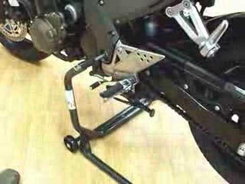 Cavalletto a perno passante generico brevetto miceli moto youtube - Cavalletto da pittore da tavolo ...