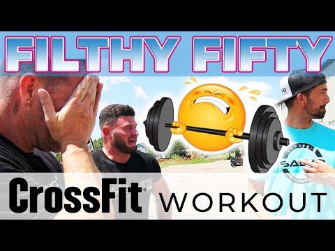 HARDEST CROSSFIT WOD FILTHY FIFTY | CROSSFIT SALVO