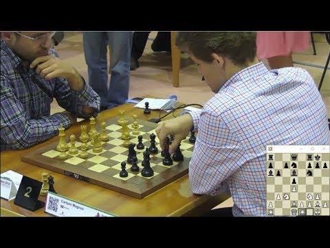 MAGNUS CARLSEN VS LEVON ARONIAN - WORLD BLITZ CHESS CHAMPIONSHIP 2014