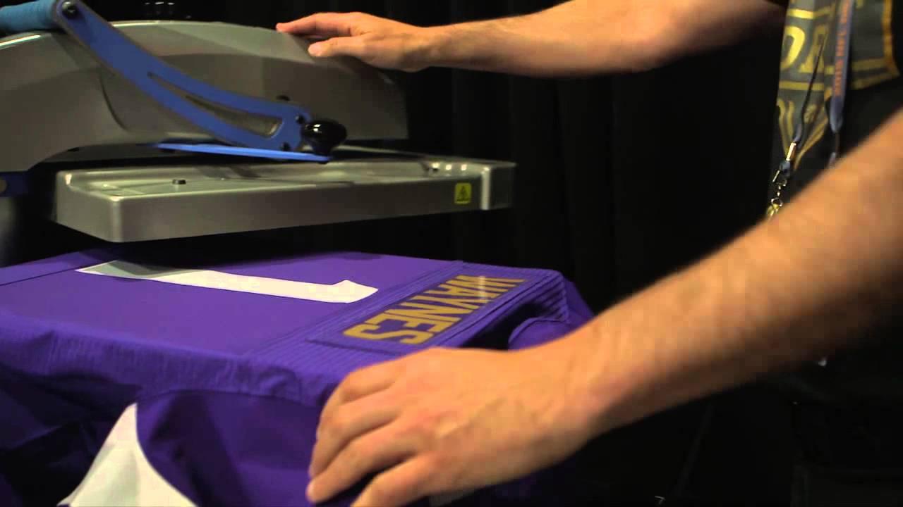 Making of 2015 NFL Draft Nike jerseys - YouTube 0fdb9490d