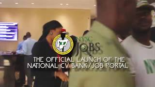 NYSC launches Job Portal : NYSC Jobs