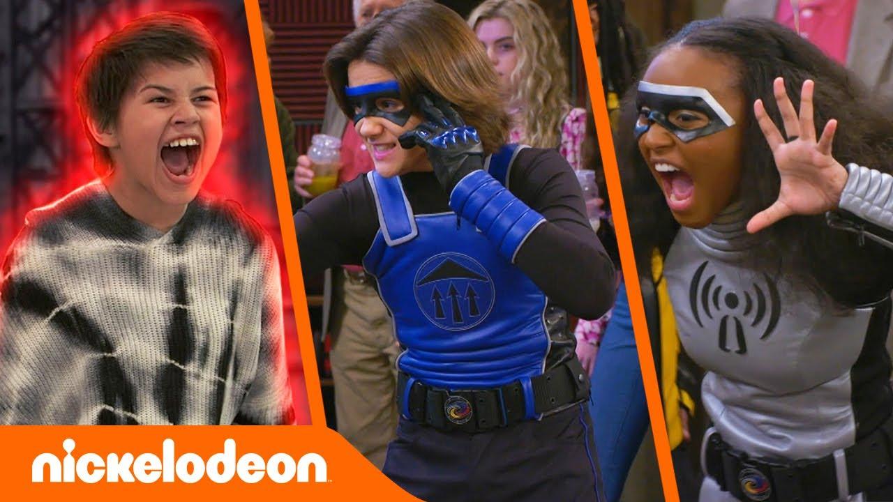 Danger Force | Elke keer dat de Danger Force hun krachten gebruikt | Nickelodeon Nederlands