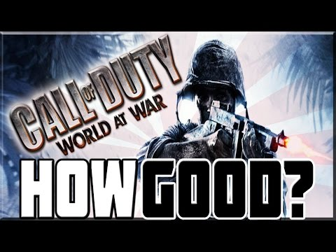 HOW GOOD WAS CALL OF DUTY WORLD AT WAR!?