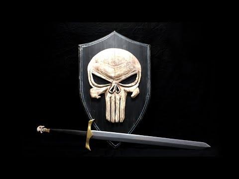 Making It Yourself - Wooden Sword - Punisher Sword